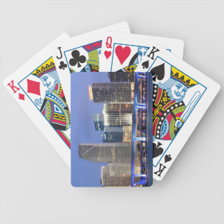 Skyline of Miami Bicycle Playing Cards