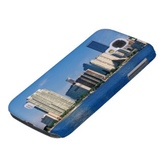 Skyline of Miami, Florida Galaxy S4 Case