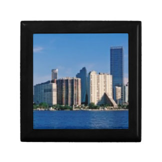 Skyline of Miami, Florida Gift Box