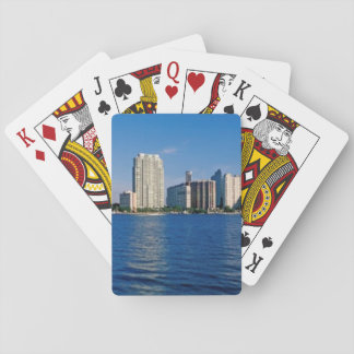 Skyline of Miami, Florida Playing Cards