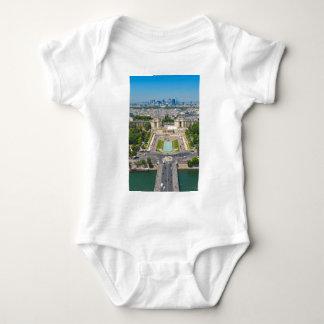 Skyline of Paris Baby Bodysuit