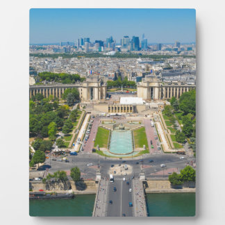 Skyline of Paris Photo Plaques
