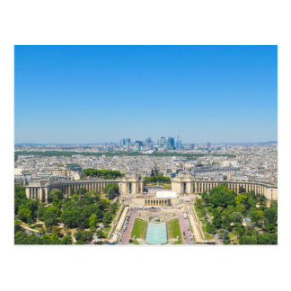 Skyline of Paris Postcard