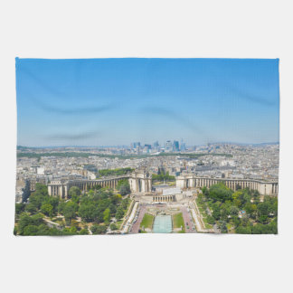 Skyline of Paris Tea Towel