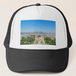 Skyline of Paris Trucker Hat