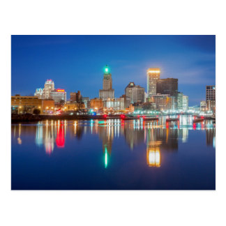 Skyline of Providence, RI Postcard