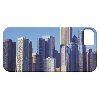 Skyline of Skyscrapers in downtown Chicago iPhone 5 Cases
