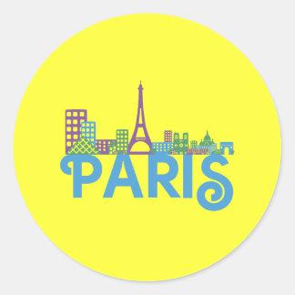 Skyline Paris Stickers