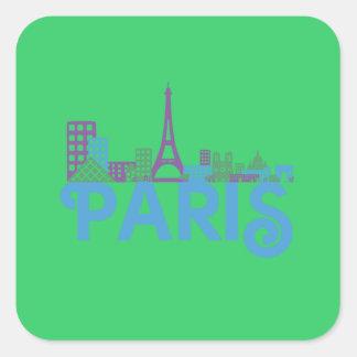 Skyline Paris Sticker