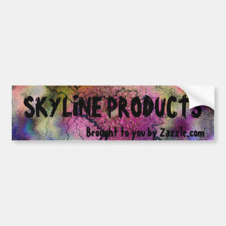 SKYLINE PRODUCTS BUMPER STICKERS