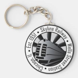 Skyline Railway Keychains