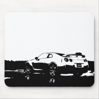 Skyline Side View Mouse Mat