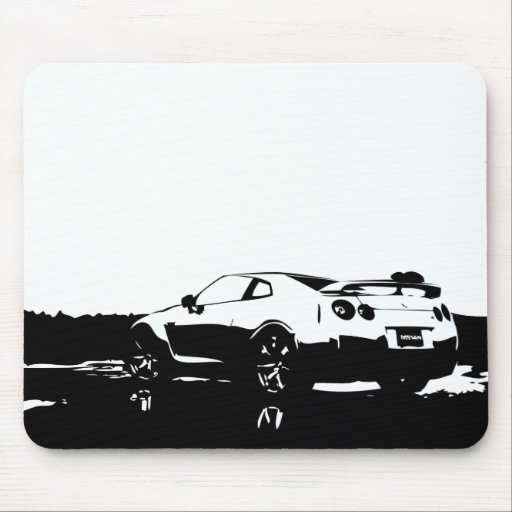 Skyline Side View Mouse Pads