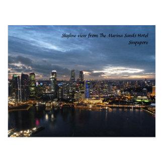 Skyline, Singapore Postcard