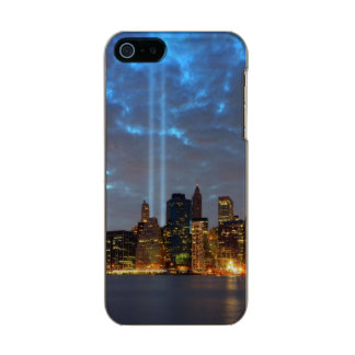 Skyline view of city in night. incipio feather® shine iPhone 5 case