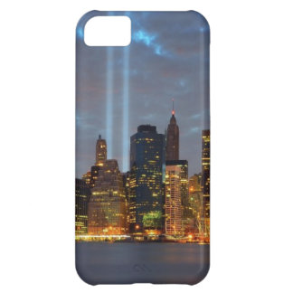 Skyline view of city in night. iPhone 5C case