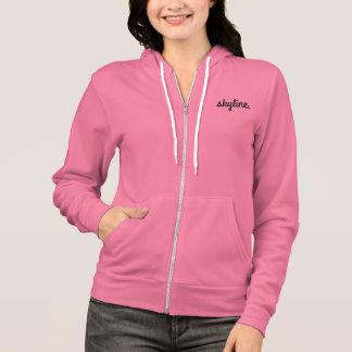 Skyline Women's Pink Zip Hoodie