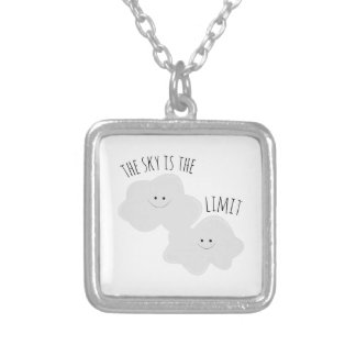 Skys The Limit Square Pendant Necklace