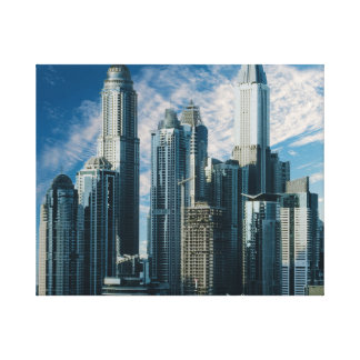 """Skyscraper"" Canvas"