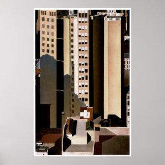 Skyscraper, Charles Sheeler Poster