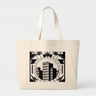 Skyscraper(FOR BLACK TEE) Tote Bag