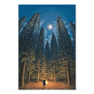 Skyscraper Forest Photo Print