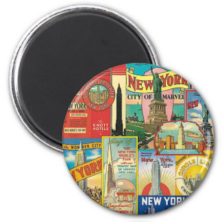 Skyscraper of New York Magnet