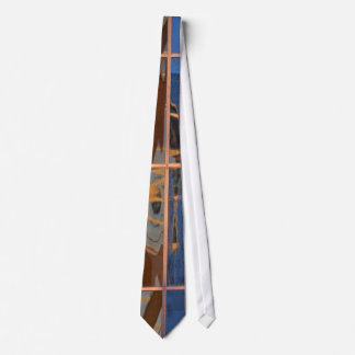 Skyscraper reflection tie