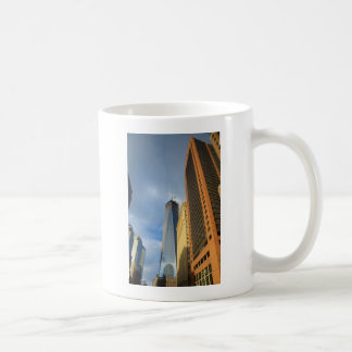 Skyscraper Reflections of New York Coffee Mug