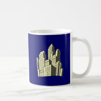 Skyscraper sky more scraper coffee mug