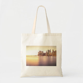 Skyscraper Skyline - New York City Sunset Tote Bag