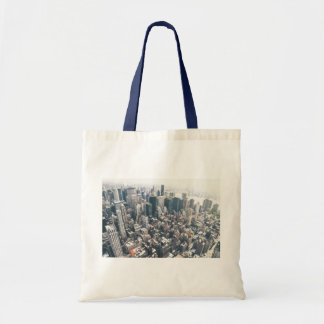 Skyscrapers and Rooftops of New York City Tote Bags