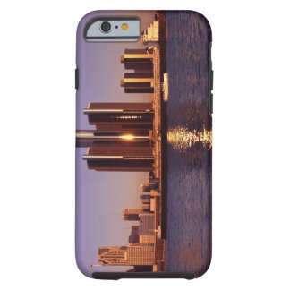 Skyscrapers by the water in Detroit 2 Tough iPhone 6 Case