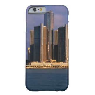Skyscrapers by the water in Detroit 3 Barely There iPhone 6 Case