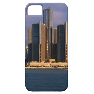 Skyscrapers by the water in Detroit 3 iPhone 5 Case