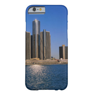 Skyscrapers by the water in Detroit Barely There iPhone 6 Case