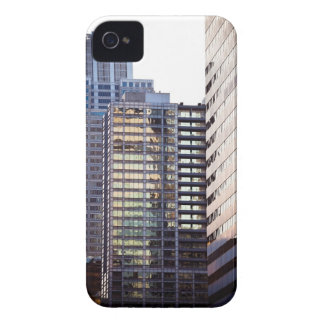 Skyscrapers in Chicago's financial district iPhone 4 Case-Mate Cases