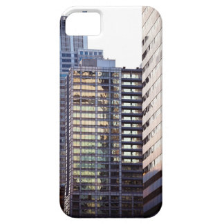 Skyscrapers in Chicago's financial district iPhone 5 Cover