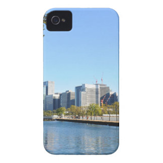 Skyscrapers in Tokyo, Japan iPhone 4 Case-Mate Cases