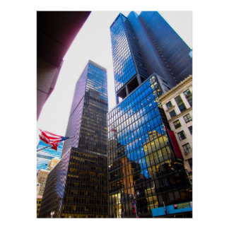 Skyscrapers NYC Poster