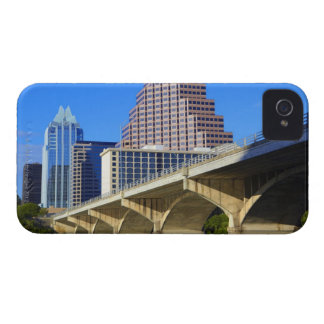 Skyscrapers of Downtown Austin and Colorado iPhone 4 Case-Mate Case