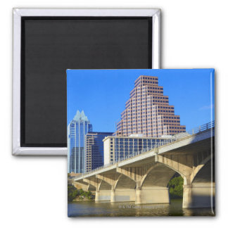 Skyscrapers of Downtown Austin and Colorado Magnet