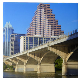 Skyscrapers of Downtown Austin and Colorado Tile
