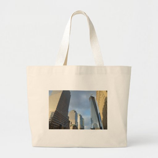 Skyscrapers of New York Canvas Bag