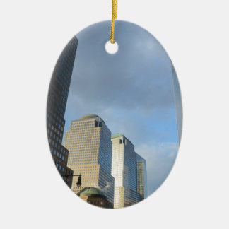 Skyscrapers of New York Christmas Ornament