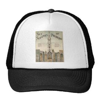 Skyscrapers of Philadelphia Trucker Hats