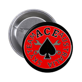 skyteam Ace Riders Button / Badge