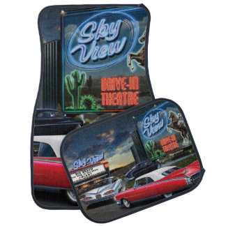 Skyview Drive In 2 Car Mat