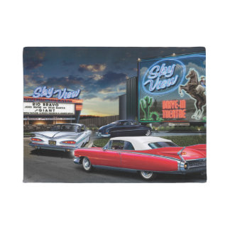 Skyview Drive In 2 Doormat