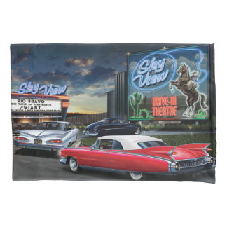 Skyview Drive In 2 Pillowcase